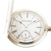 Hamilton orologio tasca acciaio limited edition / pocket watch