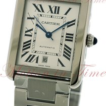 Cartier Tank Solo Extra Large, Silver Dial - Stainless Steel...