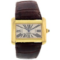 Cartier Large Cartier Divan 18k Yellow Gold 2803 Watch