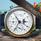 Christiaan v.d. Klaauw 40mm Ariadne Triple Calendar Chronograp...