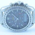Breitling Pluton Herren Uhr Stahl/stahl 42mm Rar Schöner Zustand