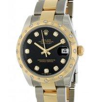 Rolex Datejust 31mm 178343 Steel, Yellow Gold, Diamonds