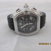Cartier Roadster XL steel Auto Chronograph