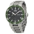Oris Aquis Automatic Grey Dial Stainless Steel Men's Watch