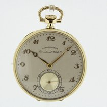 IWC Chronometer Vintage solid 18K Yellow Gold Pocket Watch...