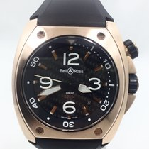 Bell & Ross Marine BR02 Pink Gold Carbon Dial
