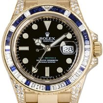 Rolex Oyster Perpetual GMT-Master II Yellow Gold