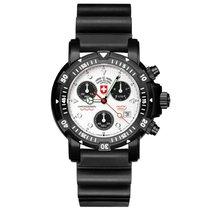 Swiss Military Watch Diver`s Seawolf 1 Scuba Nero 2415