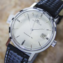 Movado Kingsmatic Automatic Stainless Steel Mens 1960s Dress...