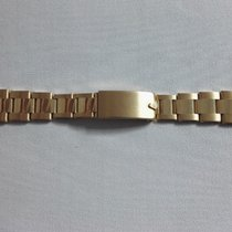 Rolex bracelet band riveted 18 kt gold yellow 7205A  end links...