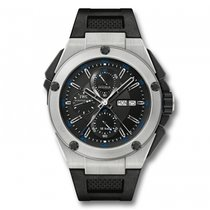 IWC Ingenieur Double Chronograph  Black Dial Automatic...