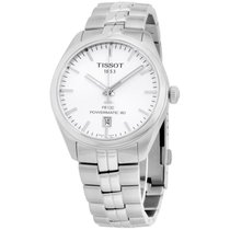 Tissot Pr 100 Silver Dial Stainless Steel Automatic Ladies...