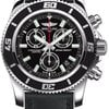 Breitling Superocean Chronograph M2000 Superocean Leather Strap