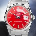 Rolex Oyster Perpetual Date, Red Dial