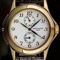 Patek Philippe Travel Time 5134 Manual Windng GMT18k Gold Full...