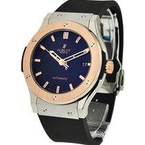 Hublot Classic Fusion King Gold in Titanium and Rose Gold with...