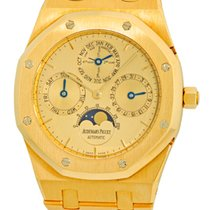 "Audemars Piguet Gent's 18K Yellow Gold  Royal Oak ""Qua..."