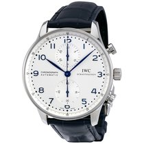IWC Watch IW371446 Portuguese Chronograph steel