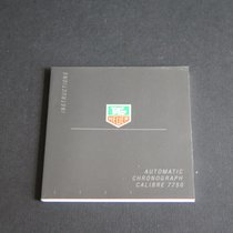 TAG Heuer Instructions Automatic Chrono Cal. 7750 Booklet