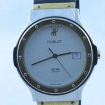 Hublot Classic Mdm Herren Uhr 37mm Quartz Mit Kautschuk Band...