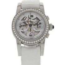Girard Perregaux Small Chronograph Diamond Bezel 80440D11A711-...
