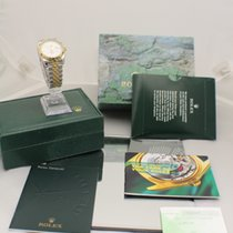 Rolex 116263 Turn-O-Graph 18kt /Stainless Steel Complete