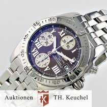 Breitling Chrono Cockpit Choco-Dial Full Set Wempe 2007 Ref....
