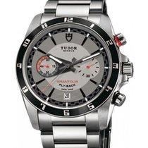 Tudor Grantour Chronograph Fly-Back 20550N-95730 Silver Index...