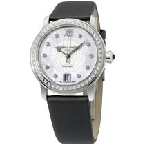Frederique Constant Slimline Mother Of Pearl Diamond Ladies...
