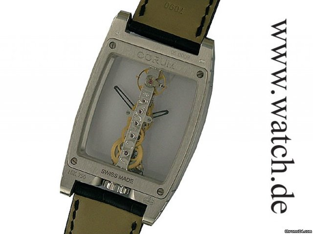 Corum Golden Bridge Haute Joaillerie Diamonds 1,71ct 32x50mm Neu