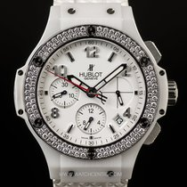 Hublot White Ceramic Diamond Bezel Big Bang Aspen 341.CL.230.R...