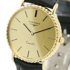 Longines LUXURY QUARTZ DRESS WATCH GOLD PLATED