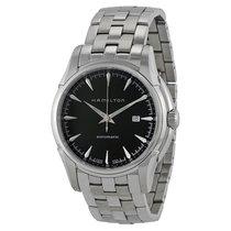 Hamilton Men's Jazzmaster Viewmatic Black Dial Watch