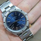 Rolex Air King 14010 | Fantastic Blue Dial | With Papers