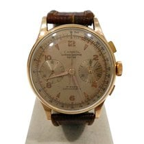 Chronographe Suisse Cie carrol oro 18 kt
