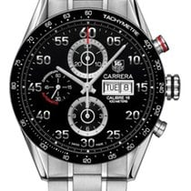 TAG Heuer Carrera Day Date Automatic Chronograph 43mm cv2a10.b...