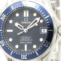 Omega Polished Omega Seamaster Diver 300m Co-axial Mid Size...