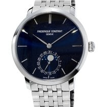 Frederique Constant Moonphases Stainless Steel Men`s Watch...