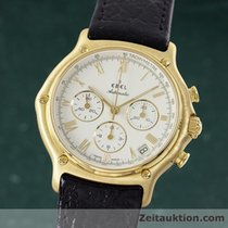 Ebel 1911 Chronograph 18k Gold Automatik Herrenuhr Kal.: 400