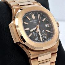 Patek Philippe Nautilus 5980/1R 18K Rose Gold 40mm Chrono...