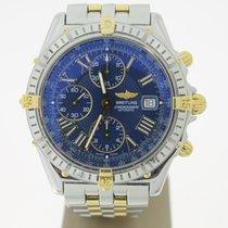 Breitling Crosswind chronograph FULL Steel/Gold BlueDial...