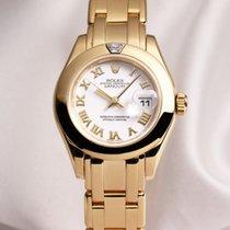 Rolex Lady DateJust Pearlmaster 80328 Diamond 18K