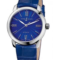 Ulysse Nardin 8103-116 Classico in Steel - on Blue Crocodile...