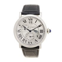 Cartier Rotonde De Cartier Stainless Steel Silver Automatic...
