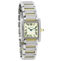 Cartier Tank Francaise Two Tone Swiss Quartz Watch W51007Q4