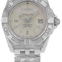 Breitling Galactic 32 Silver Dial Automatic Women Watch...