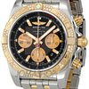Breitling Chronomat Black Dial Automatic Two-tone Mens ...