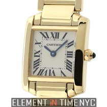 Cartier Tank Collection Tank Francaise 18k Yellow Gold Ladies...