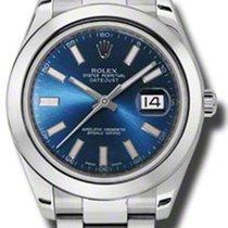 Rolex DATEJUST II 41MM Blue Stick Dial