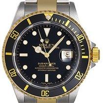 Rolex Submariner Men's Watch 16613